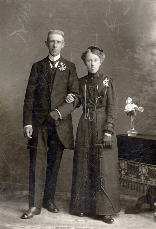 Pier Haagsma and Minke Bosma, 26 June 1915