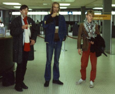 Schiphol, 22nd September 1986