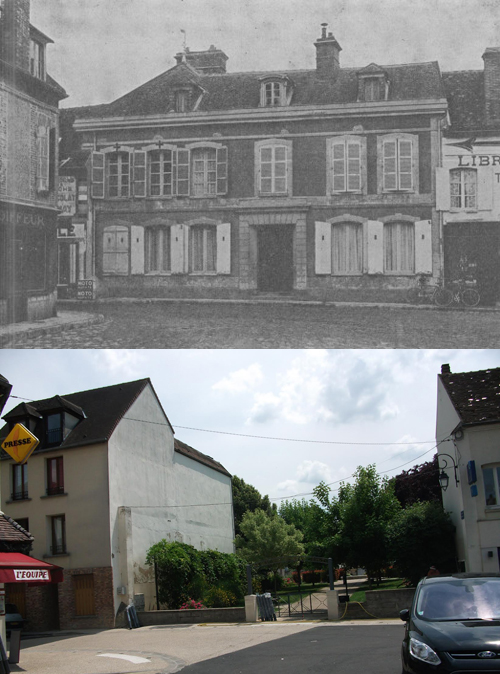 Maison Bertrand - before and after