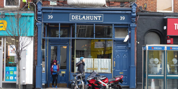 Delahunt has returned from the past.